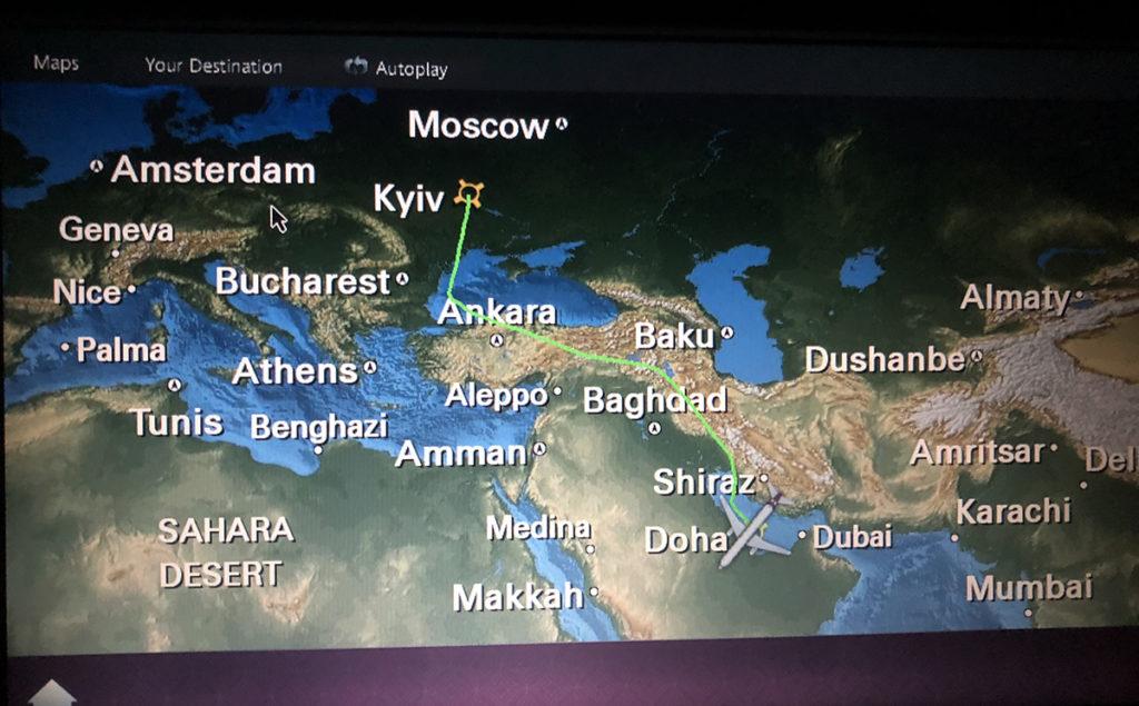 Мое первое серьезное путешествие. Пишу с Катара.
